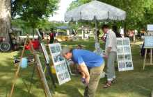 Art in the Park at Strathcona Park, August 2005
