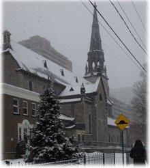 St. Patrick's Basilica - Opposite St. Patrick's Adult School in Ottawa.